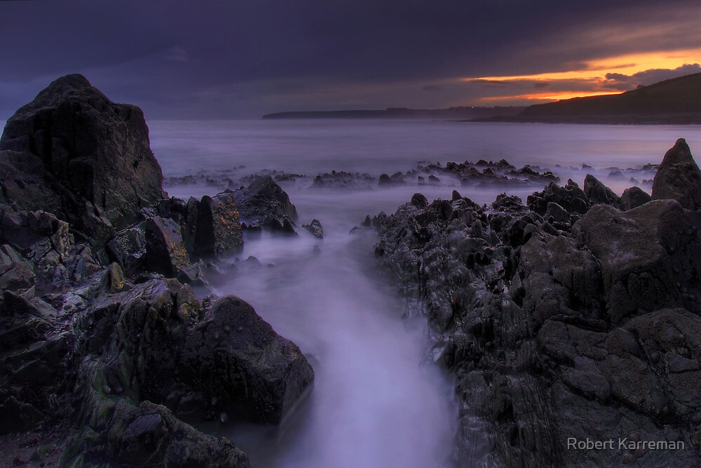 Ballycroneen Sunset II by Robert Karreman