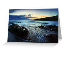 Ballycroneen Sunset I Greeting Card