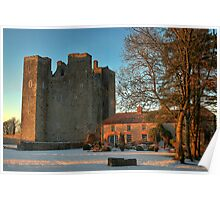 Barryscourt Castle in Winter Poster