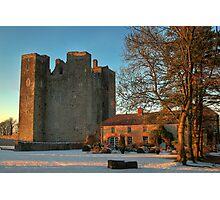 Barryscourt Castle in Winter Photographic Print
