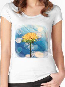 Dandelion Women's Fitted Scoop T-Shirt