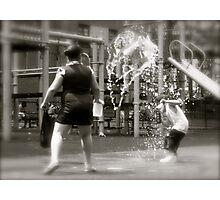 Kids at play Photographic Print