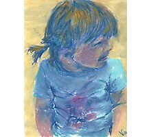 Little Cali Girl (pastel) Photographic Print