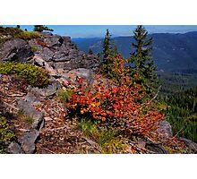 Indian Ridge Photographic Print