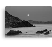 Church Bay Moonrise Canvas Print