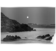 Church Bay Moonrise Poster
