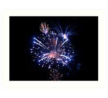 Fireworks 1 Art Print