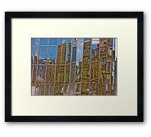 Paris, Les halles #3 Framed Print