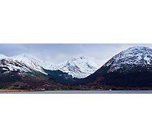 Beinn a' Bheithir Panorama Photographic Print