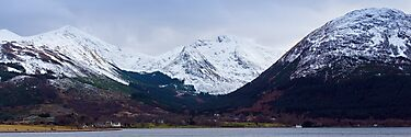 Beinn a&#x27; Bheithir Panorama by PigleT