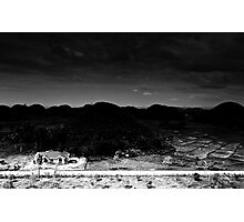 black hills of day Photographic Print