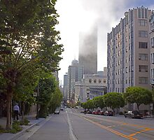 FOG IN SAN FRANCISCO 2 by Till  Baron von Grotthuss