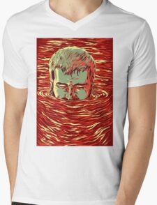 I am sinking here Mens V-Neck T-Shirt