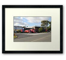 Australia Post at Rest - Cambridge Tasmania Framed Print