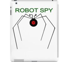 The Robot Spy from Jonny Quest iPad Case/Skin