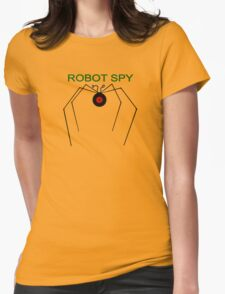 The Robot Spy from Jonny Quest Womens Fitted T-Shirt