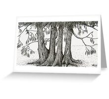 Linden Trees 2 Greeting Card