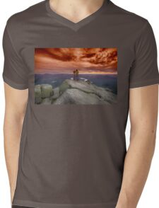 Photographer photographed Mens V-Neck T-Shirt
