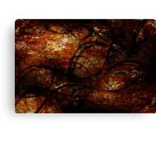 Twisting Into The Depths  Canvas Print