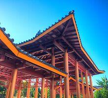 Under the Pagoda by Adam Bykowski