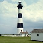 outer banks lighthouse by Chuck Chisler