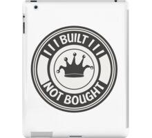 Jdm built not bought badge iPad Case/Skin
