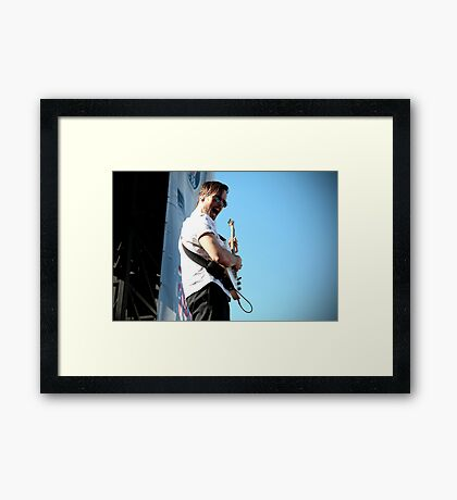 Atlas Genius Framed Print