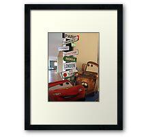 Signpost for Kids Framed Print