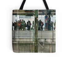 Commuters In Bangkok, Thailand Tote Bag