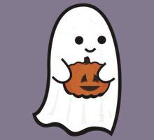 Cute Ghost's Jack o' Lantern Kids Tee