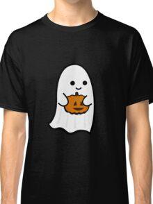 Cute Ghost's Jack o' Lantern Classic T-Shirt