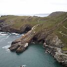 Tintagel Castle... A view to behold by sunrisegirl