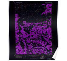 USGS Topo Map Oregon Williams Prairie 282103 1965 24000 Inverted Poster