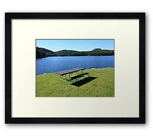 Lake In The Black Hills Framed Print