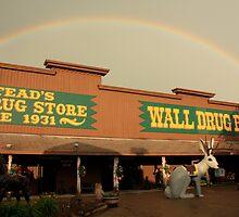 Wall Drug Rainbow by Gary Horner