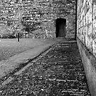 Execution courtyard at Kilmainham gaol by Esther  Moliné