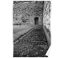 Execution courtyard at Kilmainham gaol Poster