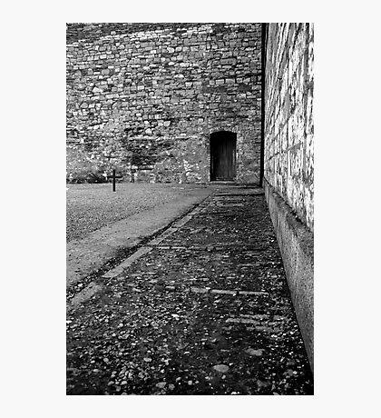 Execution courtyard at Kilmainham gaol Photographic Print