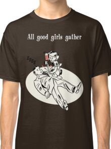 BioShock – All Good Girls Gather Poster (White) Classic T-Shirt