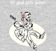 BioShock – All Good Girls Gather Poster (White) Unisex T-Shirt