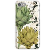 Paris Artichokes iPhone Case/Skin