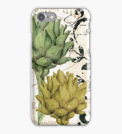 Paris Artichokes iPhone Case/Skin