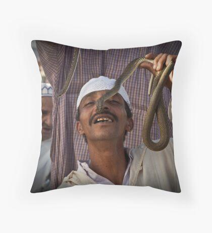 Snake charmers 2 Throw Pillow