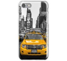 Taxis on Broadway iPhone Case/Skin