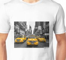 Taxis on Broadway Unisex T-Shirt