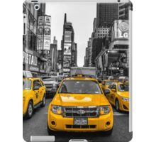 Taxis on Broadway iPad Case/Skin