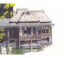 Hakkeitei Guesthouse, Hikone, Japan Photographic Print