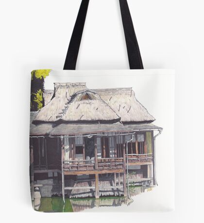 Hakkeitei Guesthouse, Hikone, Japan Tote Bag