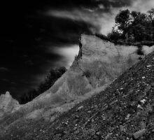 """ Chimney Bluff - Lake Ontario "" by DeucePhotog"