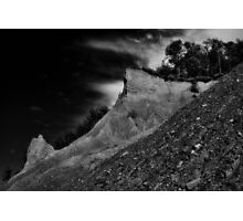 """ Chimney Bluff - Lake Ontario "" Photographic Print"